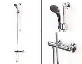 Thermostatic Shower Mixer 3D model