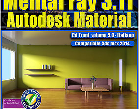 Mental ray 3 11 3dsmax 2014 Vol 5 Autodesk Material cd 1