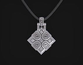 Medieval Pendant - 3D model FOR SALE - Custom 3D Jewelry