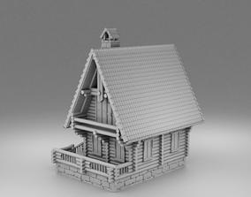 3D print model Small slavic house