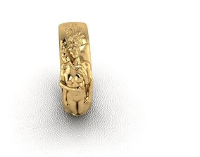 Ring man woman 3D print model