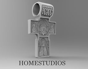 3D print model RELIGIOUS RUSSIAN CROSS 21