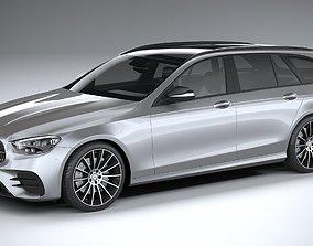 Mercedes E-Class Estate AMG line 2021 3D model