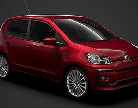 3D model VW UP 5D 2020