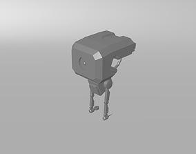 SALE Sci-fi Cyberpunk Robot Only 2 USD 3D model