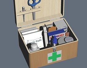 3D 1ST AID BOX Set