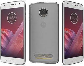 3D Motorola Moto Z2 Play Nimbus Blue