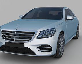 3D Mercedes benz w222 S class 2018