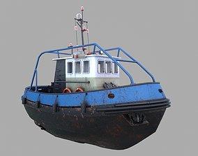 3D model Tugboat Emilka