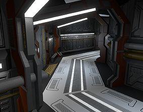 3D model Waverider Corridors and Infirmary
