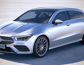 Mercedes-Benz CLA Shooting Brake 2020 3D