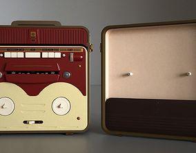 MG56 Retro Bobbin Tape Recorder 3D model