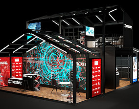 architectural Exhibition Stand 3D