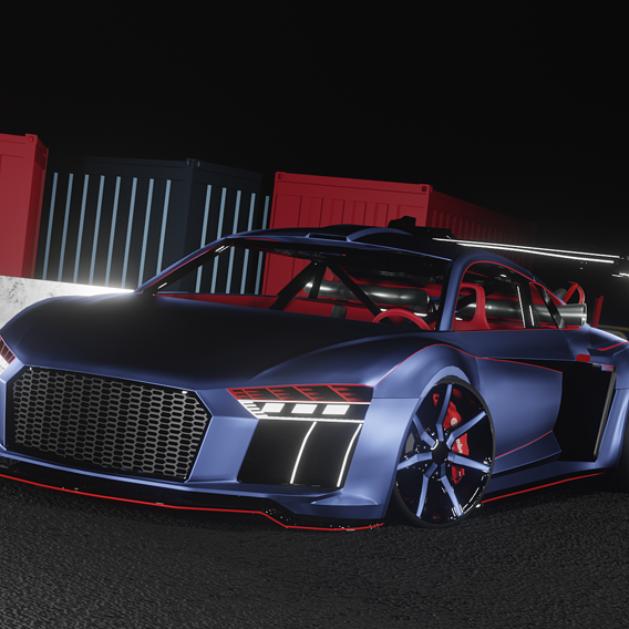 Audi R8 Dragster