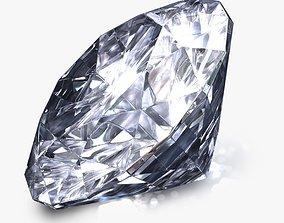 3D model Realistic Diamond
