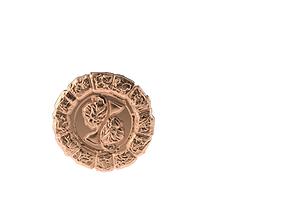 Medal Astro Gemini 3D printable model