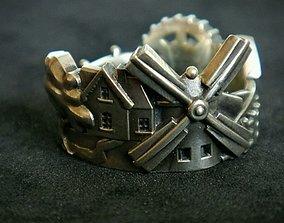 3D printable model Ring Village