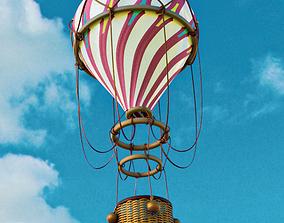 AIR BALLOON 3D model realtime