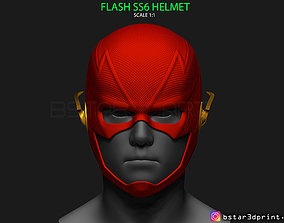 3D printable model Flash Helmet Season 6