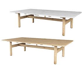 3D model Riva Table By Jasper morrison