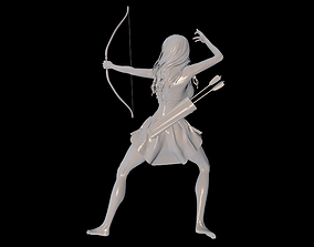 3D printable model Battle for the Amazonia part 2