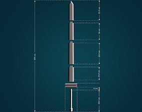 3D print model Bastard Sword from Berserk