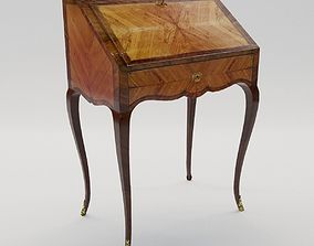 Small lady secretaire of Louis XVI - France - 18th 3D