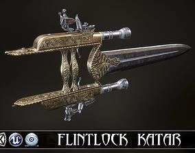 3D model BESTIAL RAGE - Flintlock Katar