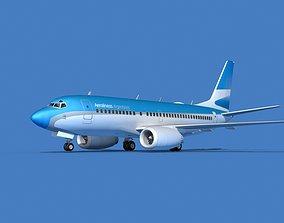 3D model Boeing 737 MAX 7 Aerolineas Argentinas