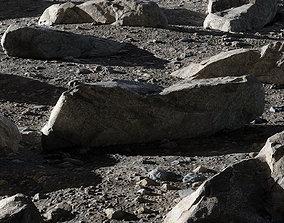3D Rocky scene