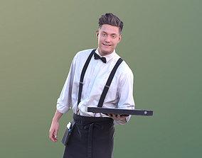 Dan 10487 - Working Waiter 3D asset