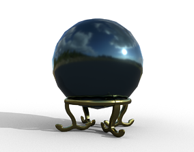 Crystal ball 3D asset
