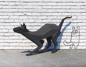 3D print model Cat sphynx