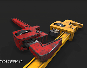 3D asset realtime Wrench