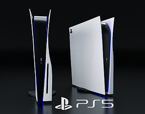 Sony Playstation 5 3D model