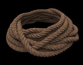 Rope Pile 3D model