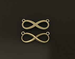 3D printable model Infinity Pendant MId Size 20mm Width
