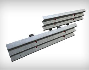 3D asset Barrier fence