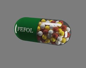 Pill - Capsule 3D