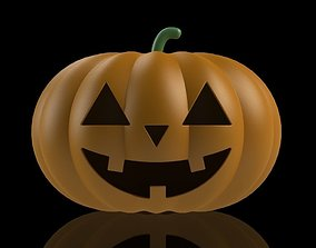 Smiling Pumpkin 3D printable model