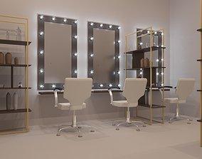 3D Beauty salon furniture