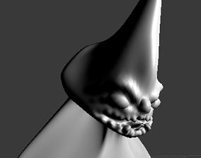 3D model Godzilla like Monster low poly sculpture