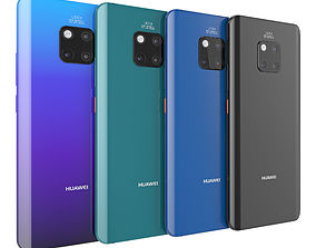 3D Huawei mate 20 pro all color