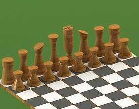 3D print model Chess pieces and chess board