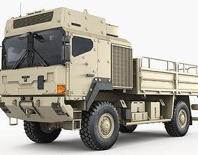 3D Military truck MAN HX60 Armor