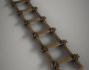 3D model Old Ladder