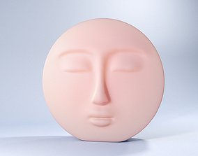 3D print model Decorative Face Candle