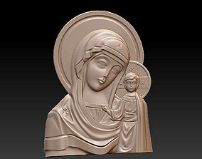 Mary with child 3D print model