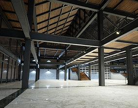 Industrial Office 01 3D model
