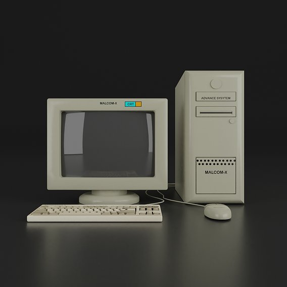 OLD AND MODERN PC